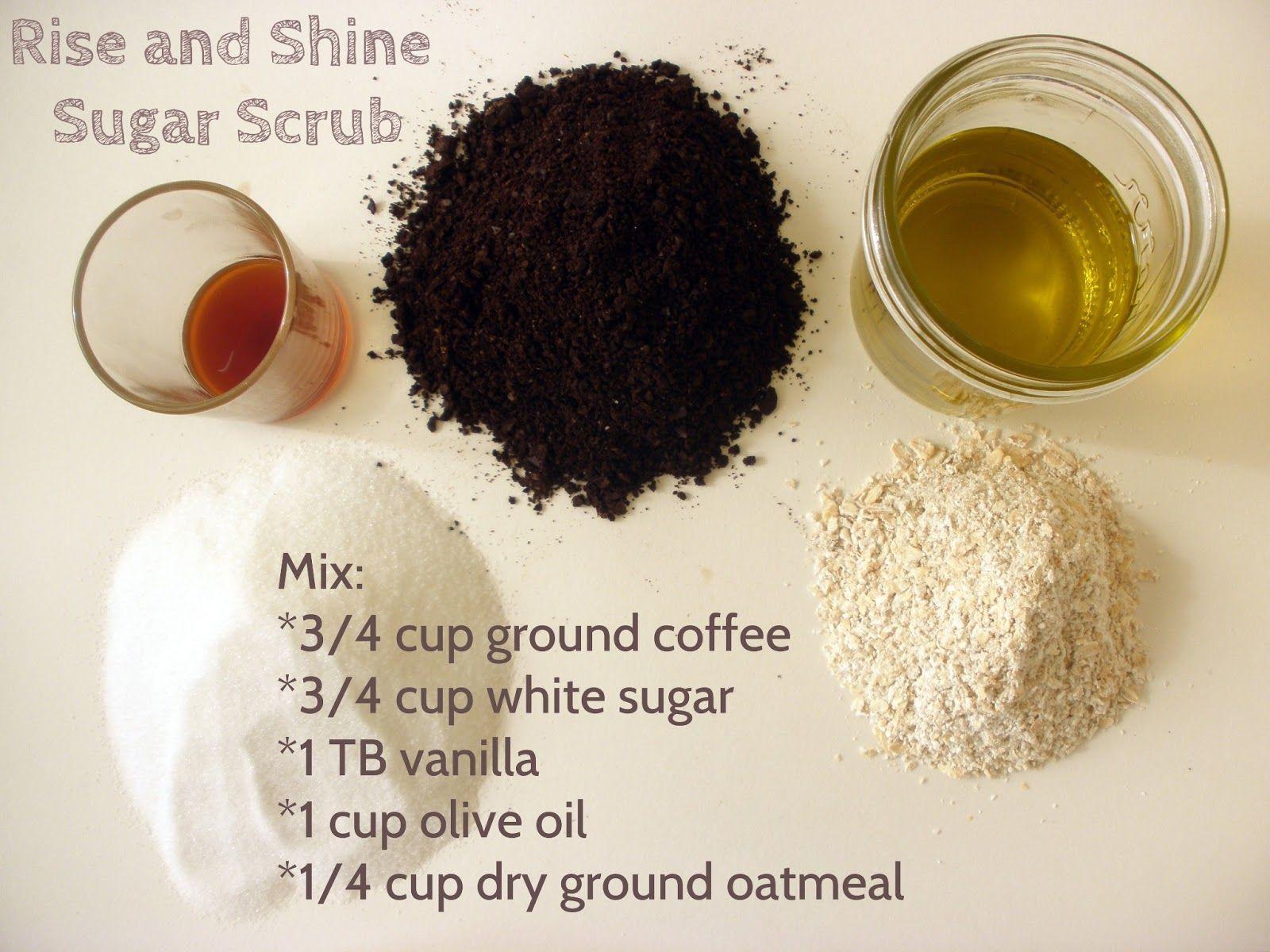 These Skin Care Tips Will Make Your Skin Happy   Oatmeal face scrub, Coffee scrub diy