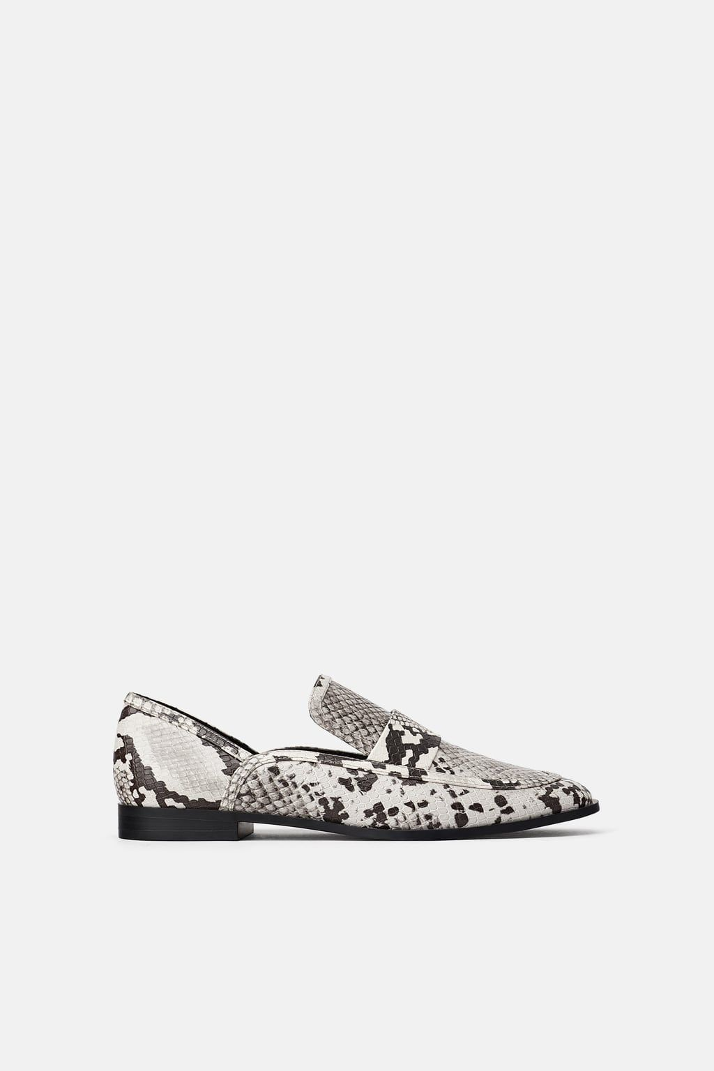 ANIMAL PRINT LOAFERS - View all-SHOES