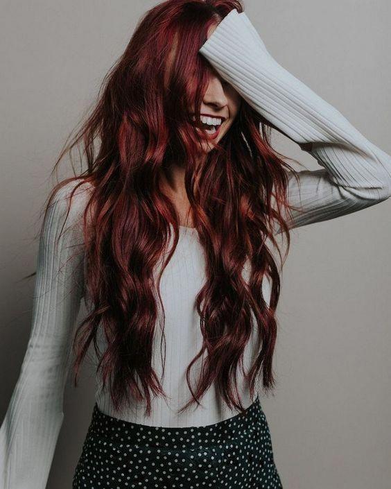Pin By Chinita N Molly On Hair Red Hair Color Bold Hair Color Magenta Hair