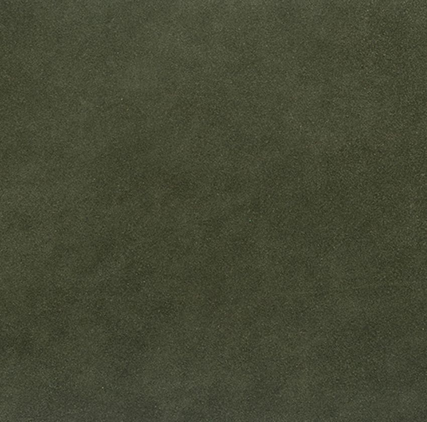 Dark Olive Green Leather Grain Genuine Leather Upholstery Fabric