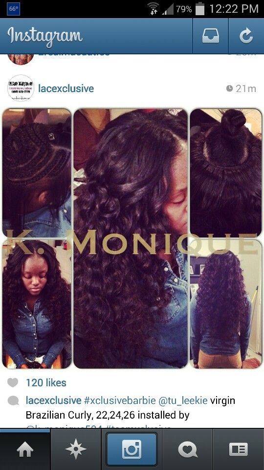 Sew in middle part, n braid pattern | HAiR&WEAVE SLAYERS ...