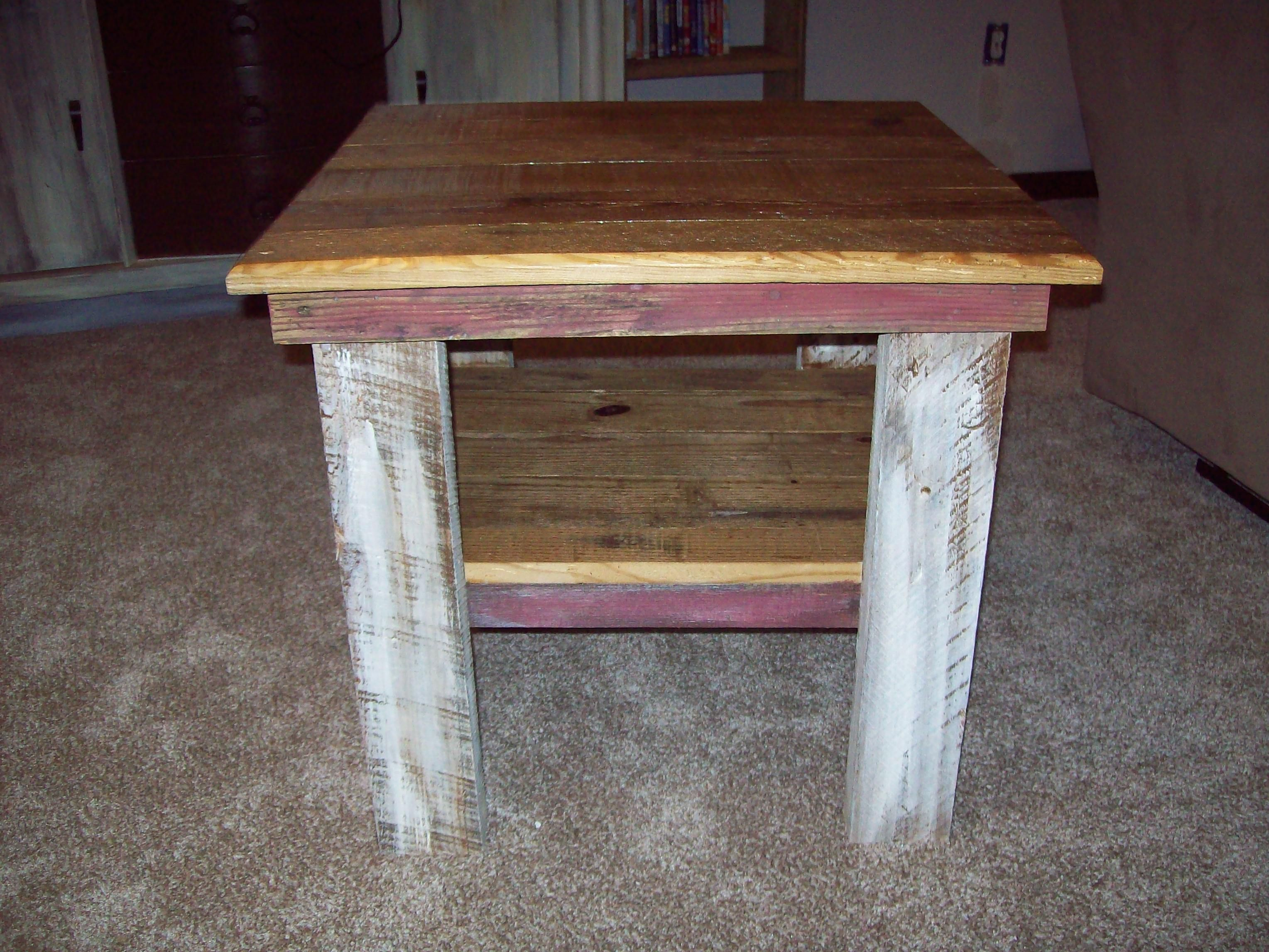 Coffee Table Reclaimed Real 2x4 For Legs Old Tongue And Groove Boards For Shelves Reclaimed From An Old Barn White Washe Home Decor Old Barn Coffee Table