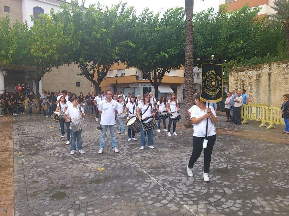 BANDA DE LA DOLOROSA  ( ALGINET ) VALENCIA, JORNADAS DEL TAMBOR L'ALCUDIA ( VALENCIA )