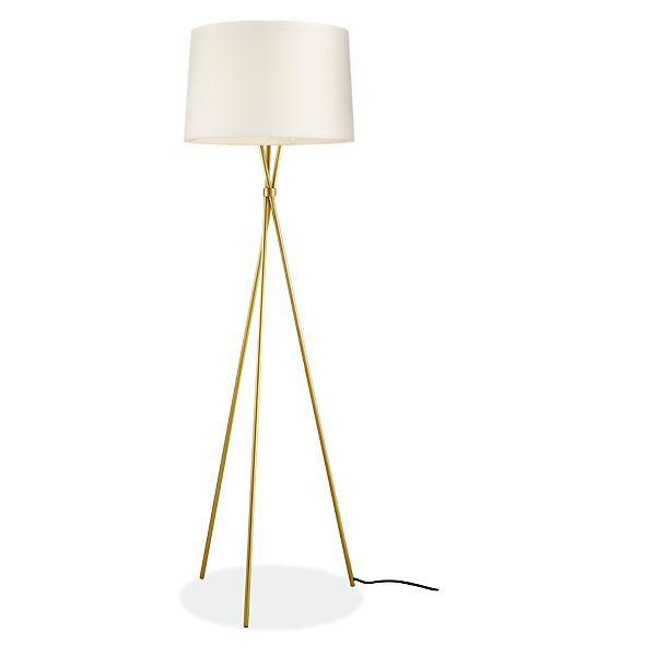 Tri-plex Floor Lamp - Modern Floor Lamps - Modern Lighting - Room ...