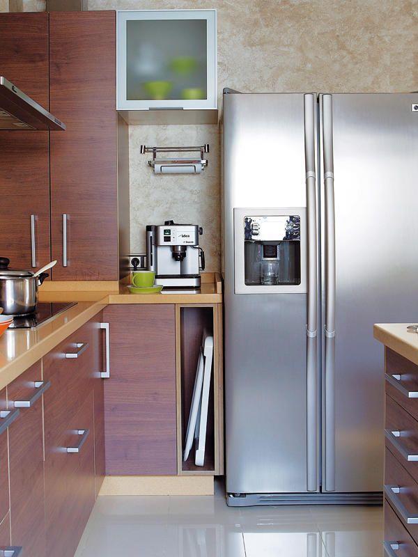 Aprovechar los rincones decoracion facilisimo dificiles - Cocinas pequenas soluciones ...