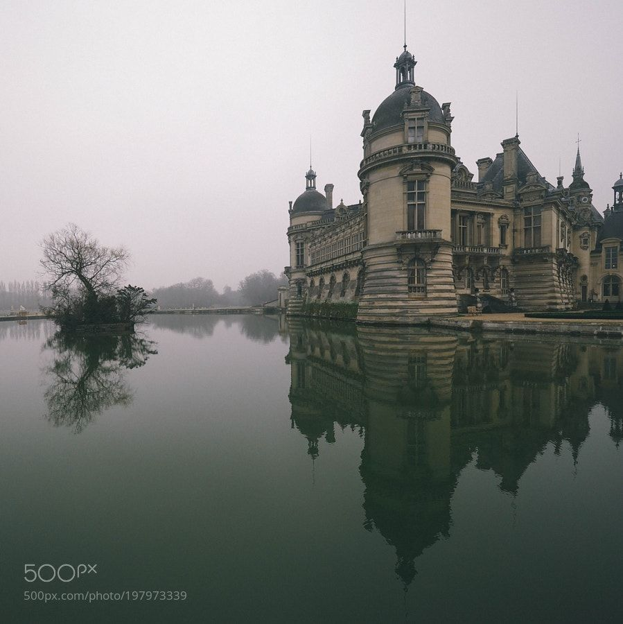 Chantilly castle by superchinois801 #SocialFoto