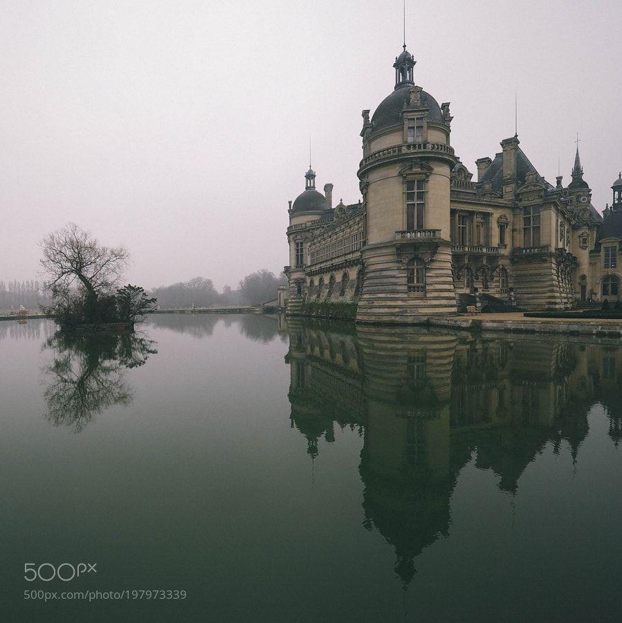 Chantilly castle by superchinois801 #SocialFoto