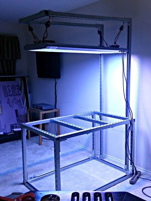 Aquarium Stand Out Of Deep Unistrut
