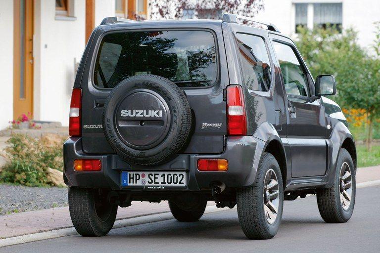Suzuki Jimny Außenansicht Heck