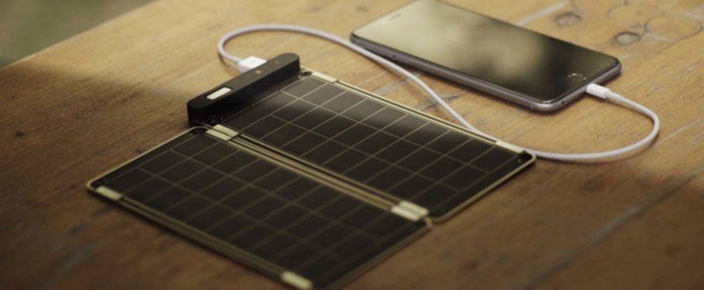 A look at the new super-thin Solar Paper Charger