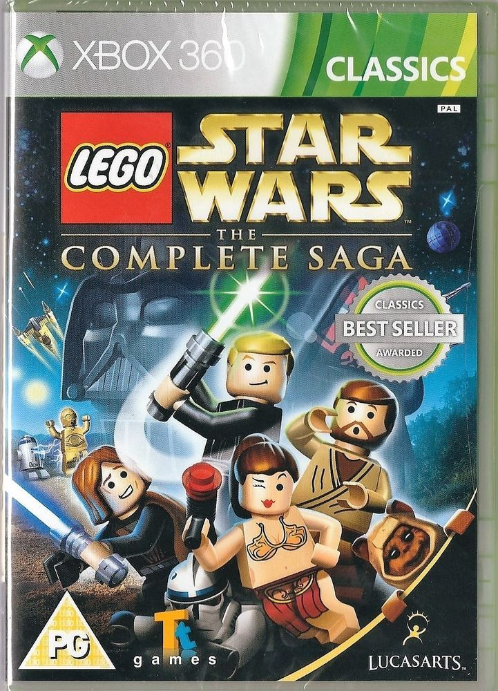 Xbox 360 LEGO Star Wars: The Complete Saga ( Xbox One compatible ...