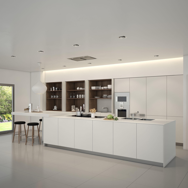 Designer Linda Jackson Bulthaup Johannesburg Pantry Wall White Kitchen Paint Kitchen Dinning