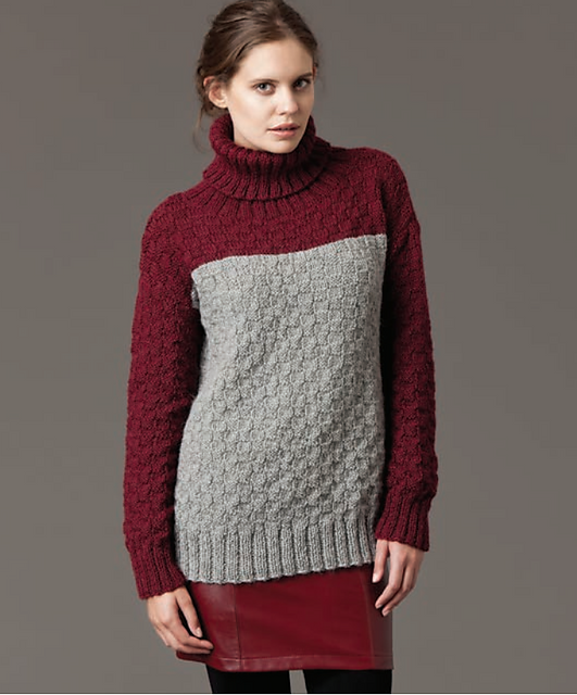 Ravelry Textured Jumper Pattern By Patons Australia Pullovers And