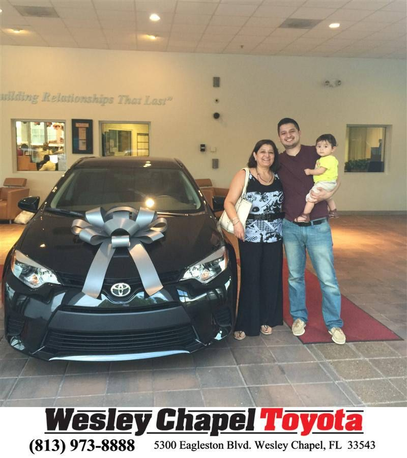 Wesley Chapel Toyota Customer Reviews Testimonials: Congratulations To Lacie Baker On Your #Toyota #Corolla