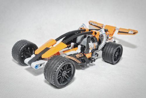black champion racer alternative 42026 a lego creation. Black Bedroom Furniture Sets. Home Design Ideas
