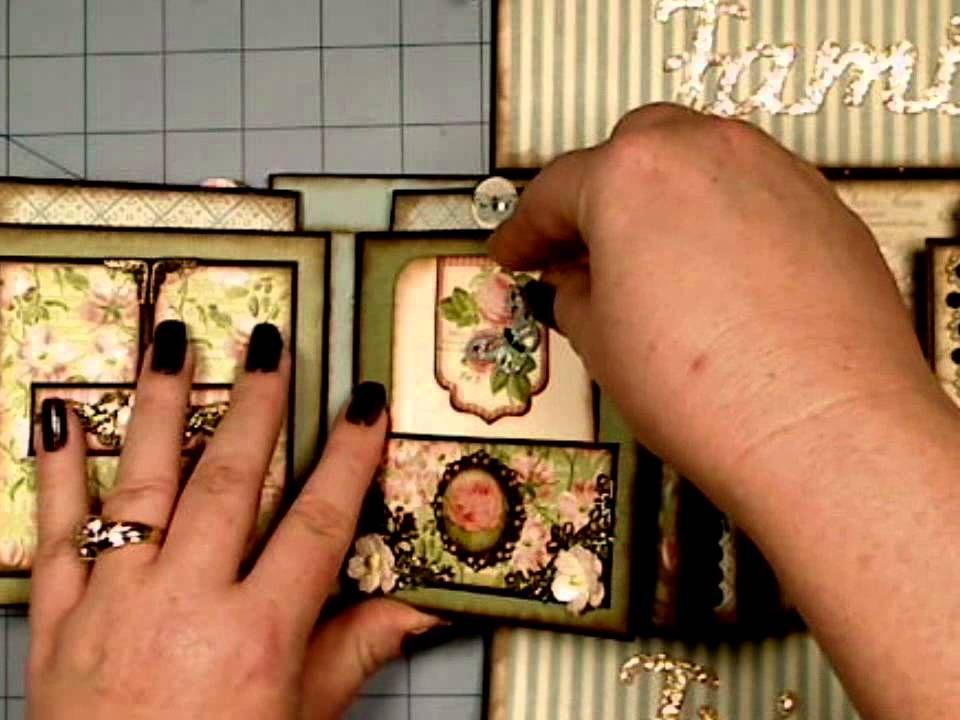 Botanical Tea Boxed Gatefold Mini Album Graphic 45 Graphic 45