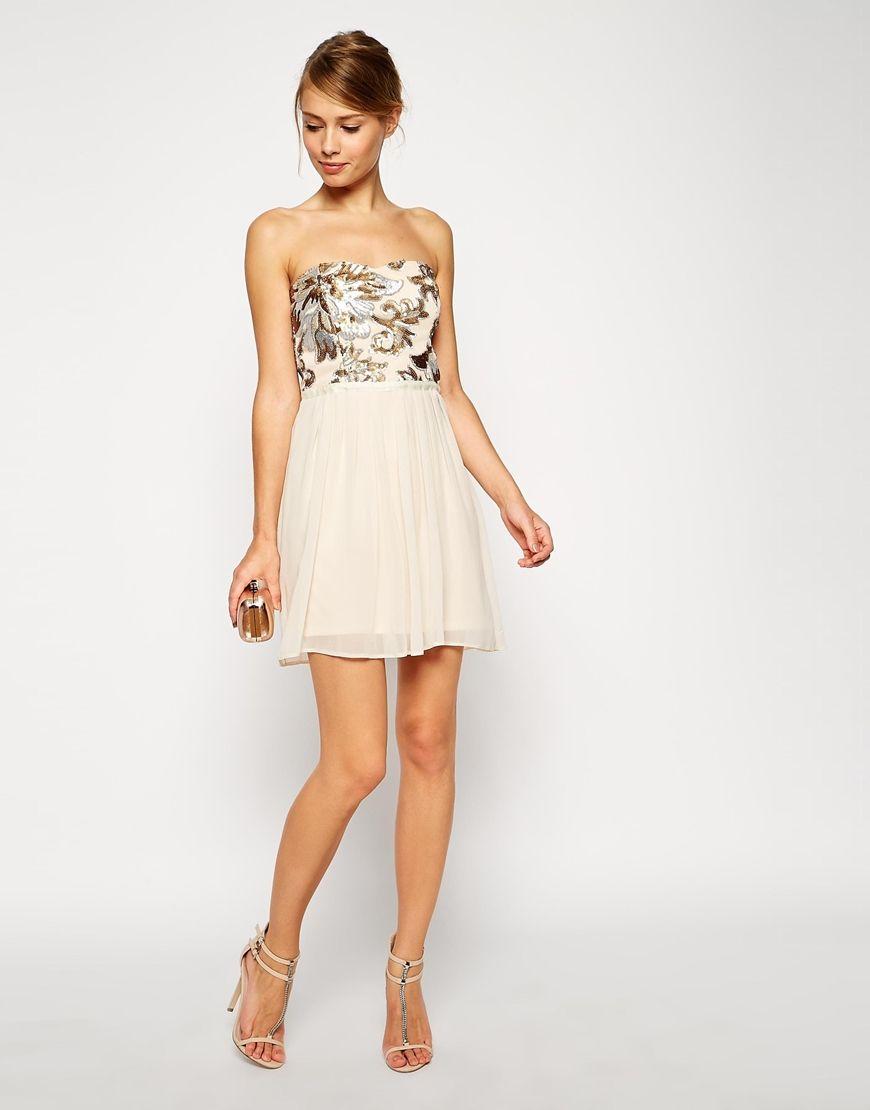 Sequin Bodice Mini Dress | Bilder