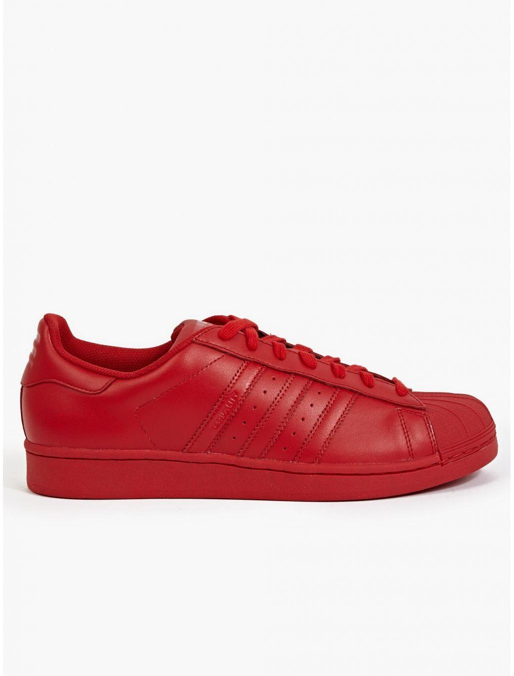 pretty nice 2ddc2 e2639 adidas Originals Men s Red Supercolor Pack Superstar Sneakers   oki-ni