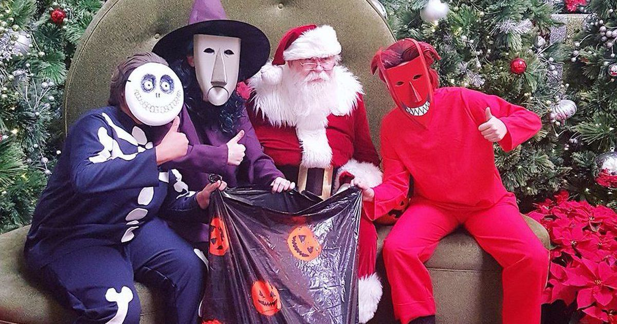 Cosplayers pull a 'Nightmare Before Christmas' prank on