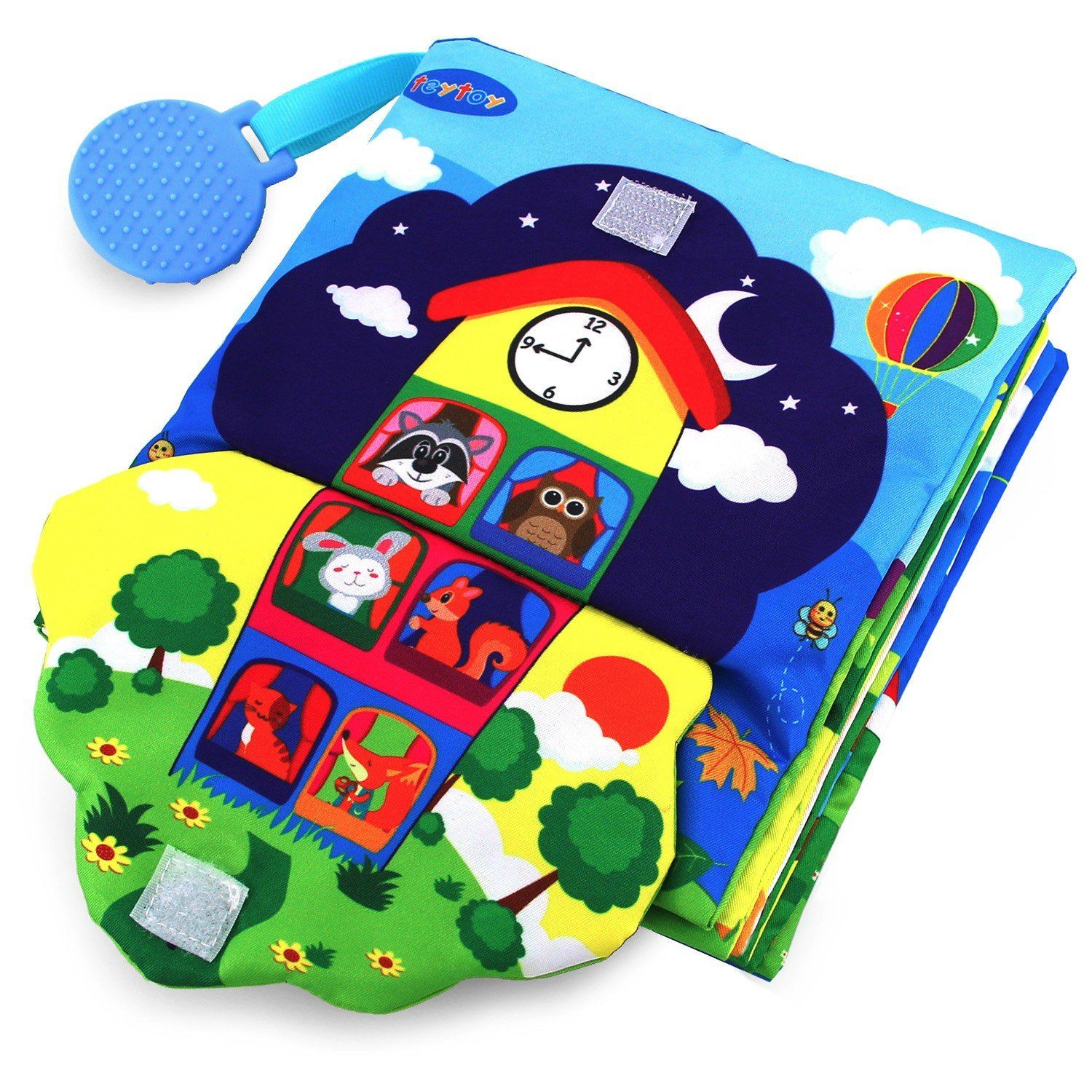 Teytoy Baby Soft Activity Books 3d Big Early Learning