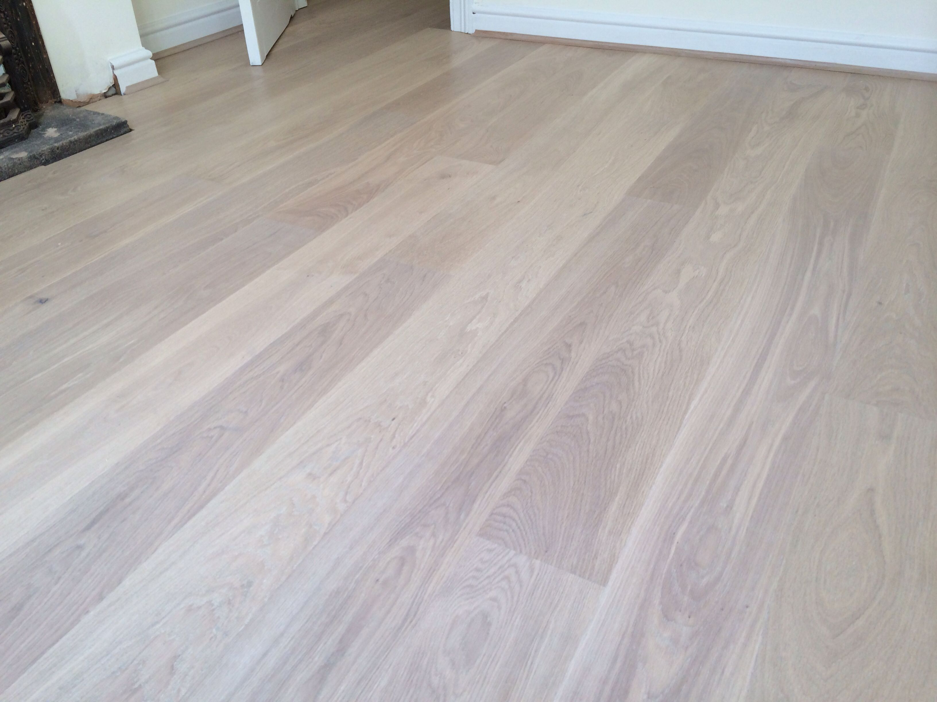 White Washed Oak Flooring Home Pinterest