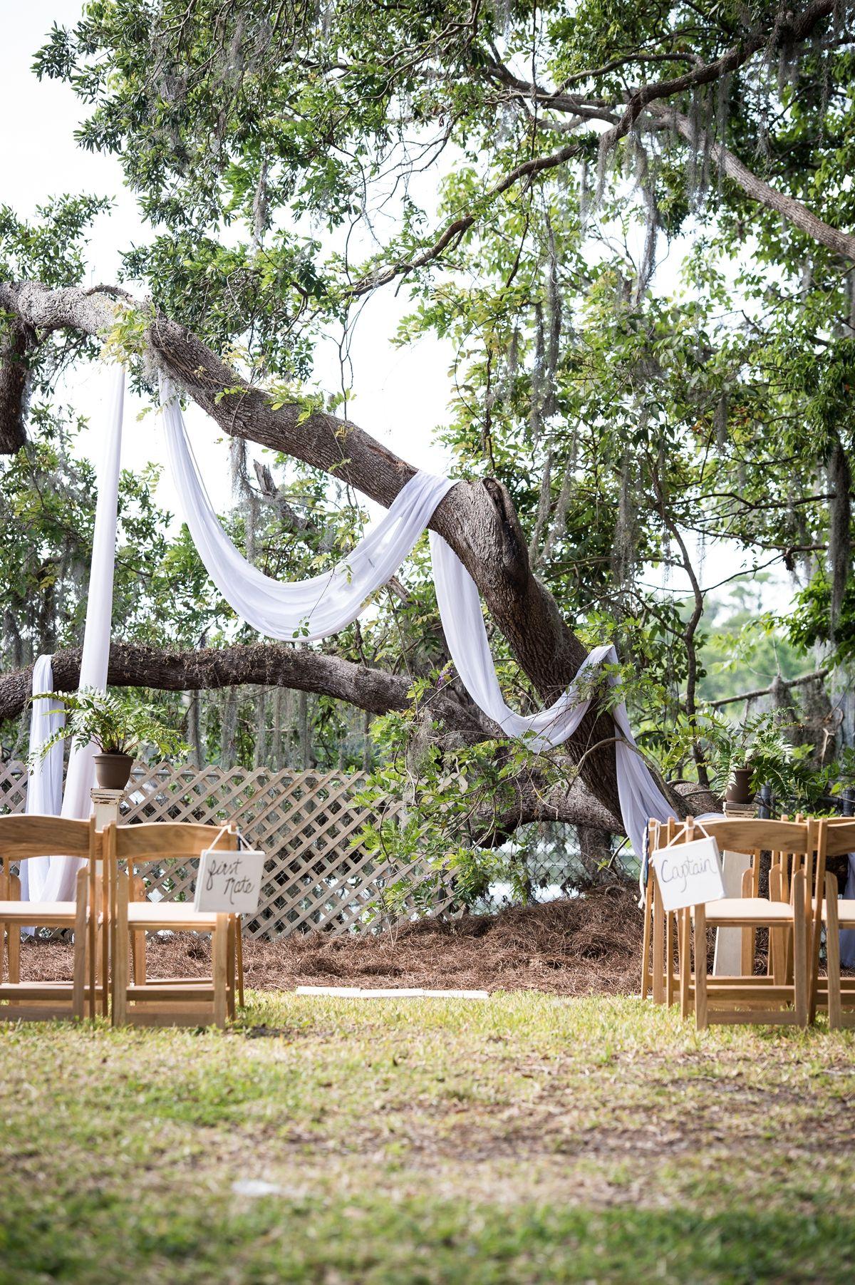A northeast florida waterfront wedding waterfront