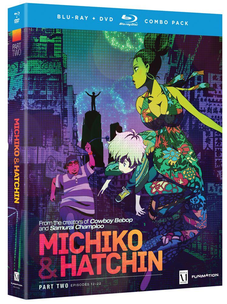 Michiko and hatchin dvdbluray part 2 hyb