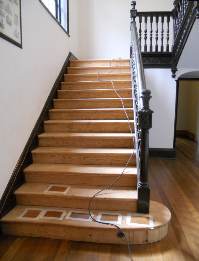 Here's a superb example of the restoration of Victorian staircase using our Pitch Pine.  The Victorian staircase was a central feature of any Victorian house, this example boasts beautifully carved newell post and stringers.