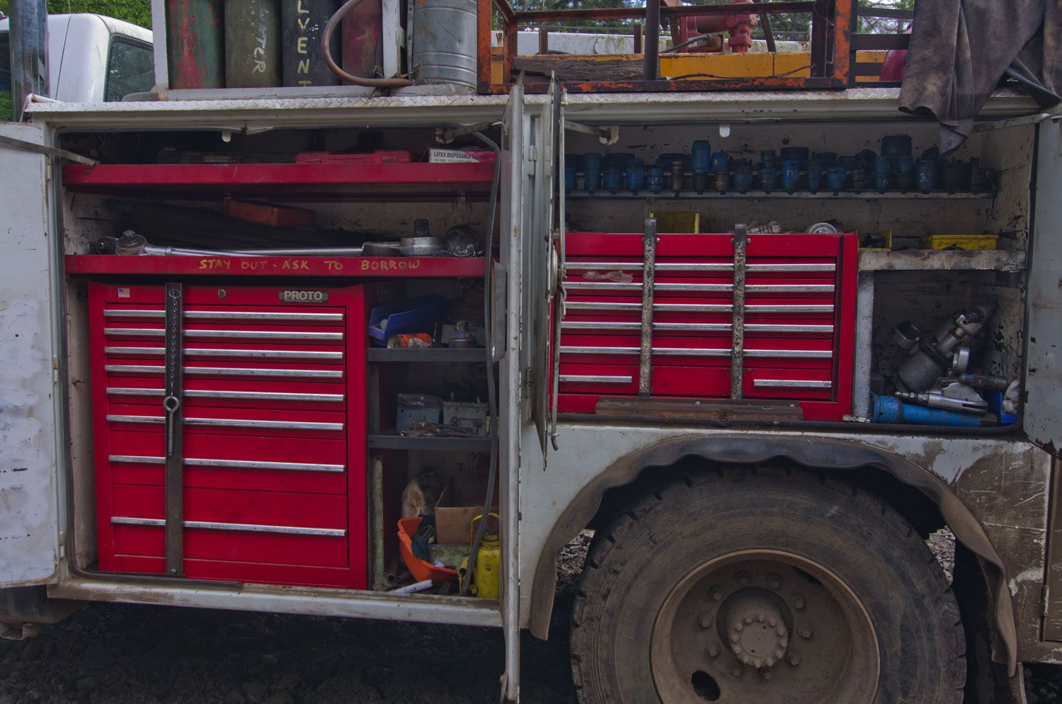 tool drawers for service trucks (With images) Truck