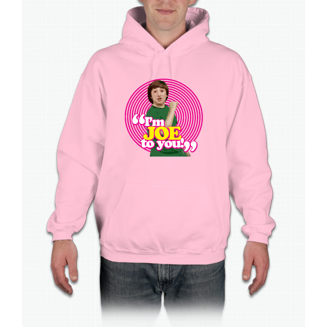 i m joe to you pink windmill kids hoodie throwback in 2018