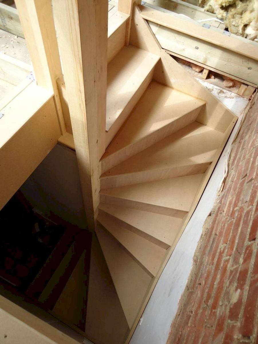 39 amazing loft stair for tiny house ideas Loft stairs