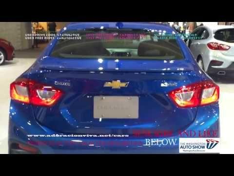 NEW CHEVY CRUZE BLUE WASHINGTON DC AUTO SHOW - Washington dc car show 2018