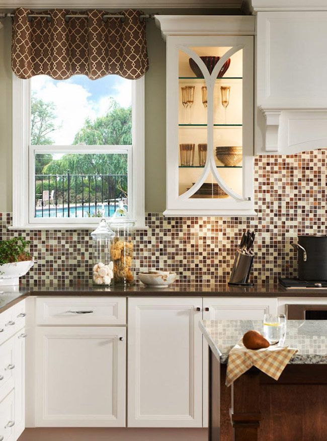 Decorative Tile Backsplash Kitchen 18 Gleaming Mosaic Kitchen Backsplash Designs  Kitchen Backsplash