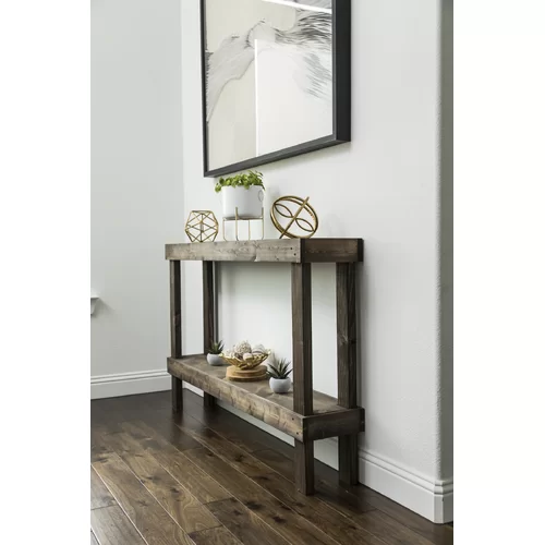 Coffee Table with Storage in 2020 Unique console table