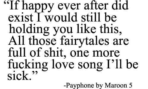 payphone by maroon 5