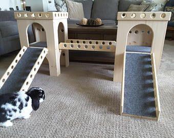 Bunny Castle Set Circle Design Circle Design Diy Bunny Cage Pet Safe