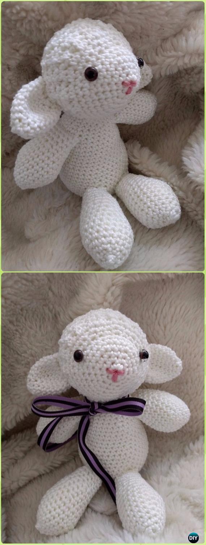 Crochet Sweet Sheep Toy Amigurumi Free Pattern - Crochet Sheep Free ...