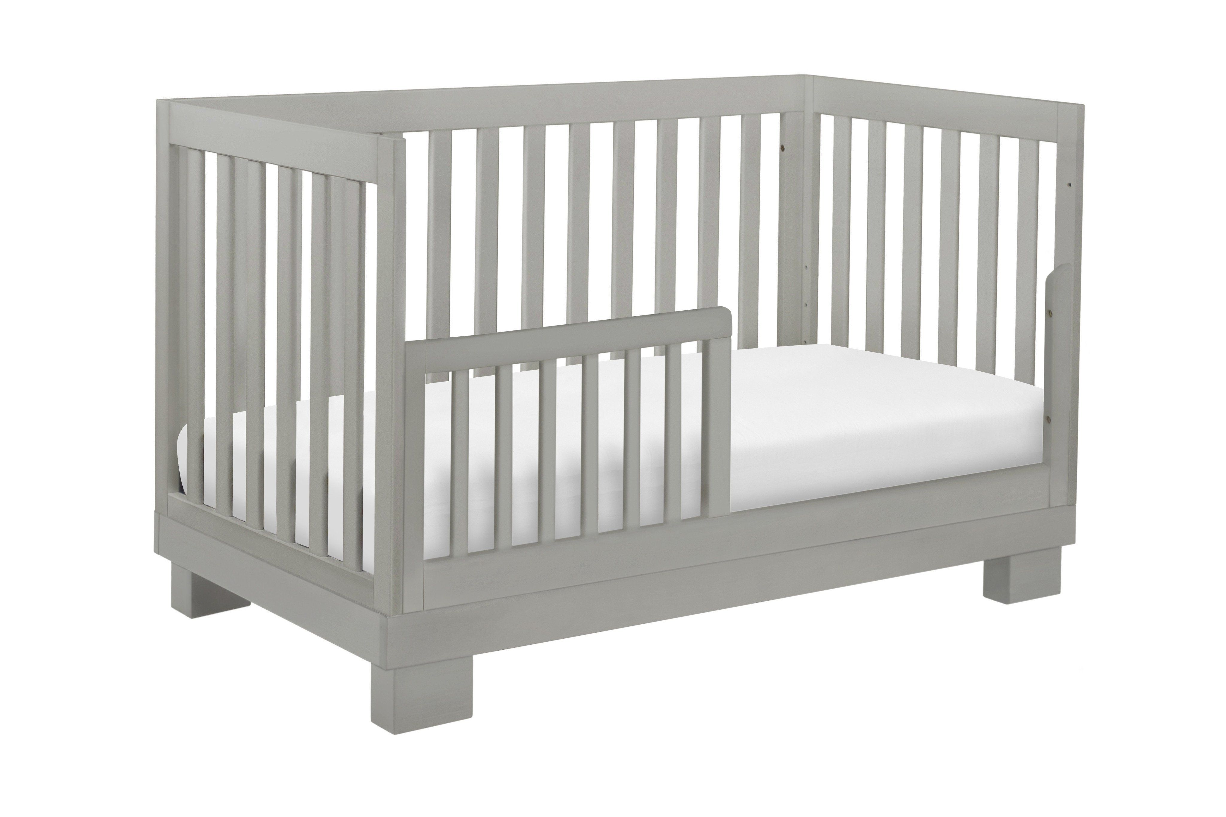 Modo 3 In 1 Convertible Crib With Toddler Bed Conversion Kit Cribs Convertible Crib Toddler Bed