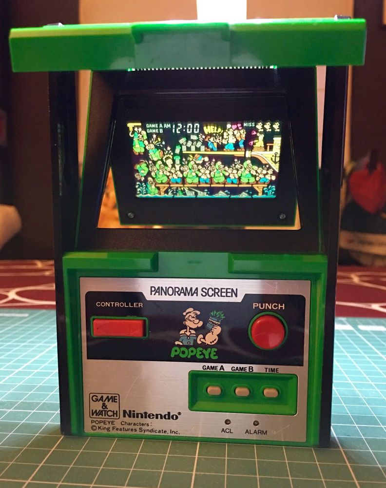 Nintendo game & watch Boxed POPEYE   eBay
