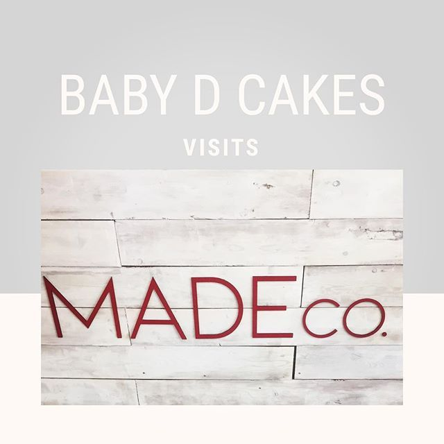 We visited @shopmadeco today and we loved it!!! Go check ...