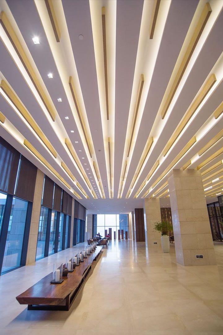 Gypsum ceiling plafones con estilo Interior