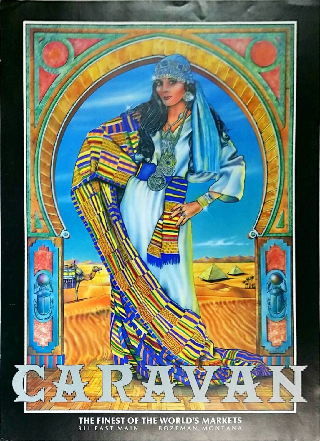 Caravan The Finest of The World's Markets with Gypsy Women Poster