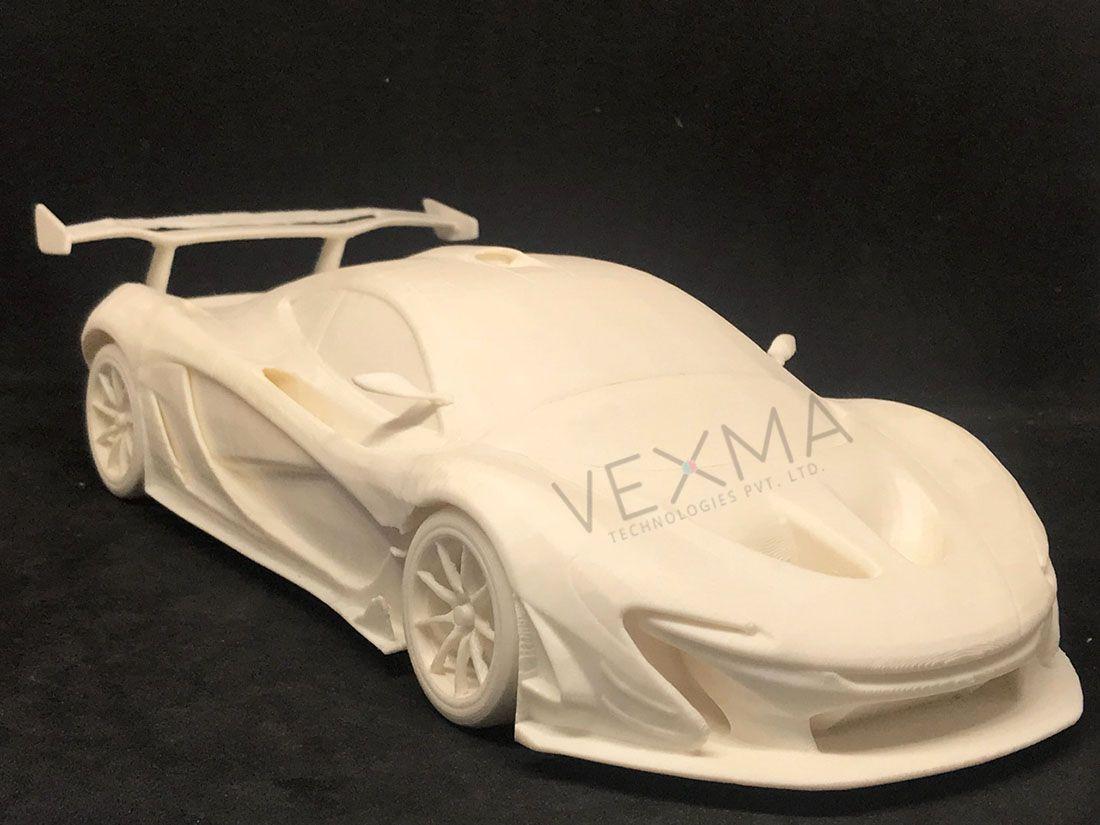 3D Printed CAR Model #carmodel #3dprintedcar #conceptcar