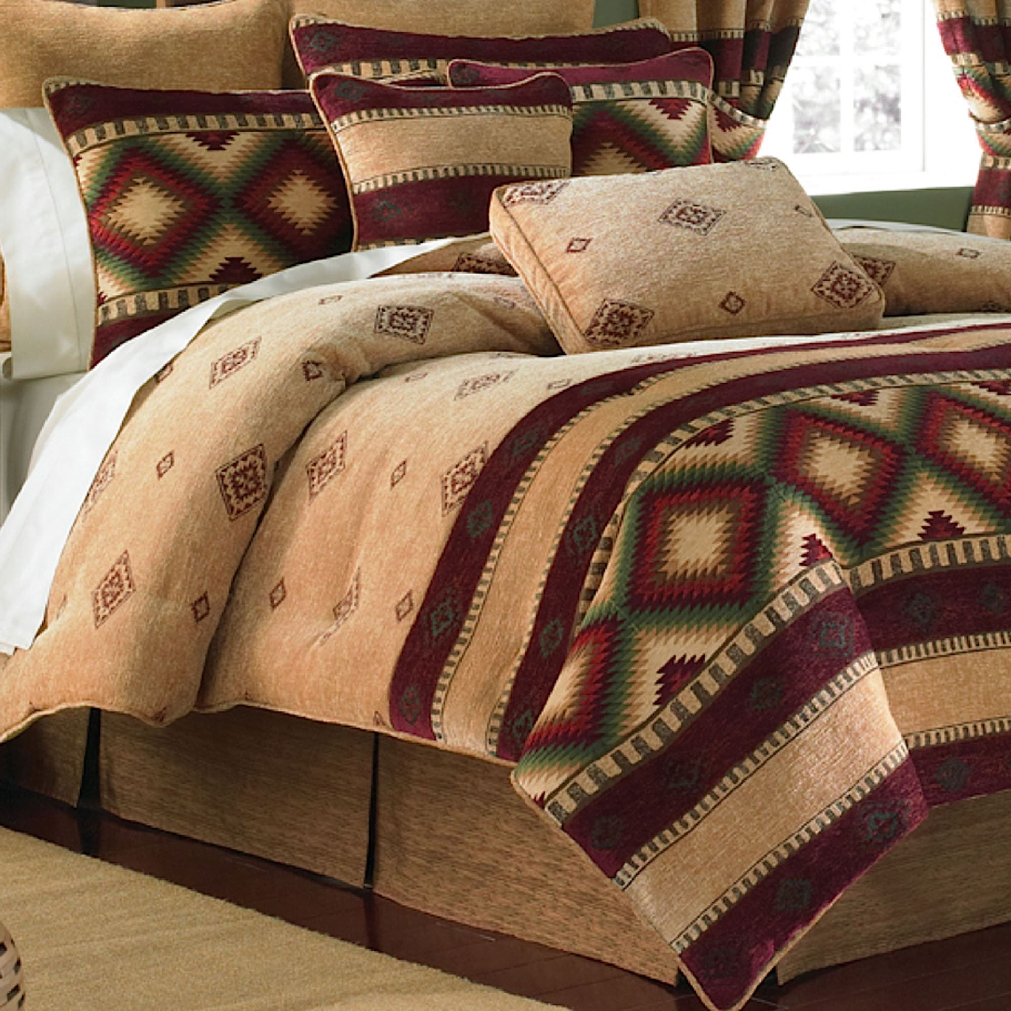 Pin By Wendy Mcalister On Mountain House Comforters Western