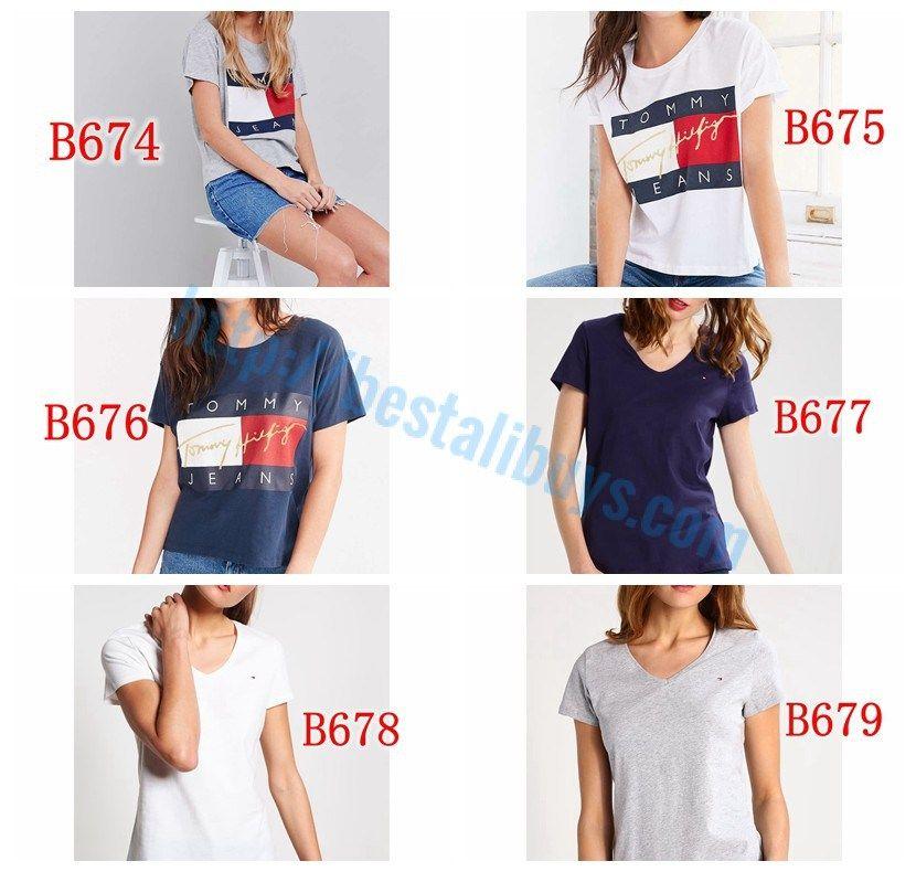B665 B679 Tommy Hilfiger T Shirt For Women On Aliexpress Hidden