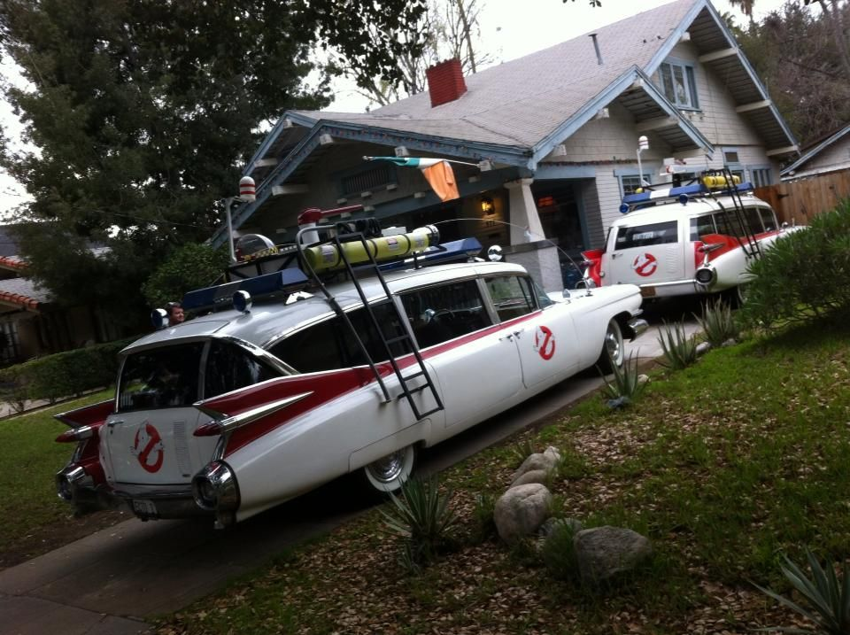 An Ecto-1 Miller and a Ecto-1 Superior together!