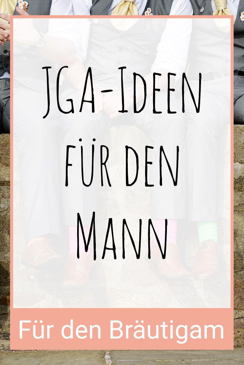 Junggesellenabschied-Ideen (JGA) für den Mann / Bräutigam. Foto mit ...