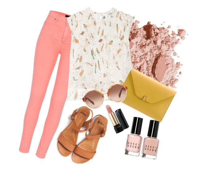 """""""18-08-2015, 16:16"""" by smileangel on Polyvore featuring mode, Bobbi Brown Cosmetics, River Island, See by Chloé, Valextra, A.P.C. en Lancôme"""