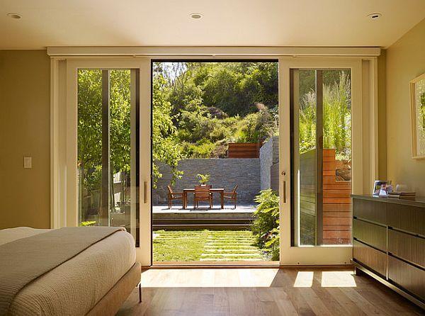 Perfect Backyard Retreat 11 Inspiring Backyard Design Ideas Sliding Glass Doors Patio Sliding Patio Doors French Doors Patio