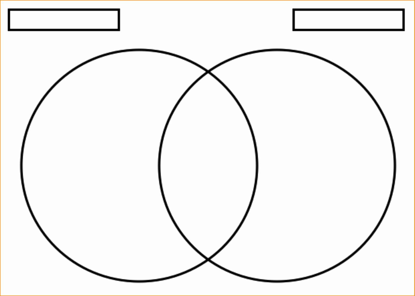 Venn Diagram To Print Luxury Venn Diagram Template In